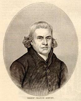 Methodist leader Francis Asbury