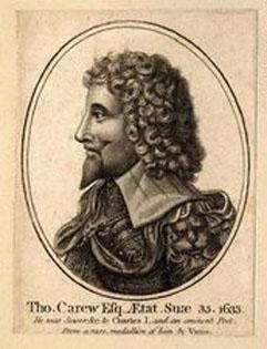 Thomas Carew cavalier poets