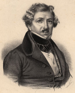Louis Daguerre inventor of the Daguerreotype