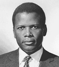 In 1958 Sidney Poitier starred