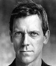 Actor Hugh Laurie plays Dr. Gregory House.