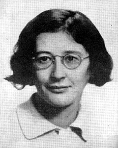 Dia de la mujer, una mujer: Simone Weil