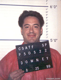 Robert Downey Jr prison