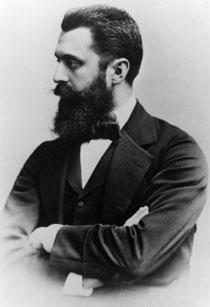 Theodor Herzl Born 2 May 1860