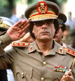 Muamar Al-Qaddafi - Libya