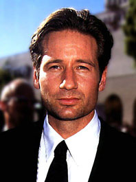 A photograph of david duchovny