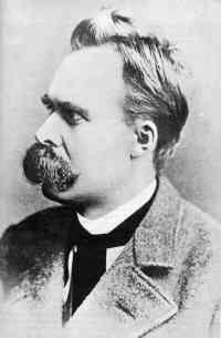 De radicale Duitse filosoof Nietzsche